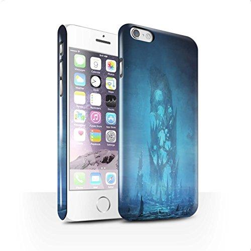 Offiziell Chris Cold Hülle / Glanz Snap-On Case für Apple iPhone 6 / Pack 12pcs Muster / Fremden Welt Kosmos Kollektion Rest