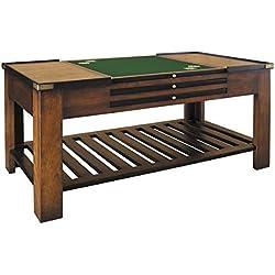 Mesa de centro con 4 tableros de juegos (120x62x45cm)