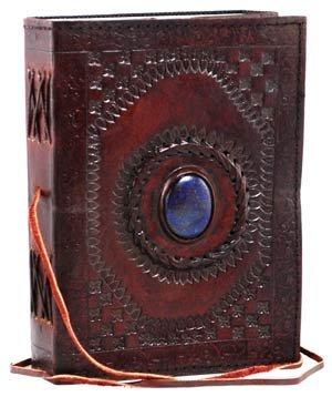 Handgefertigt Vinatge Leder blauer Stein Taschen notebook mit Verriegelung keltisches Buch Tagebuch Skizzenbuch Foto Buch Reisetagebuch Harry-potter-18