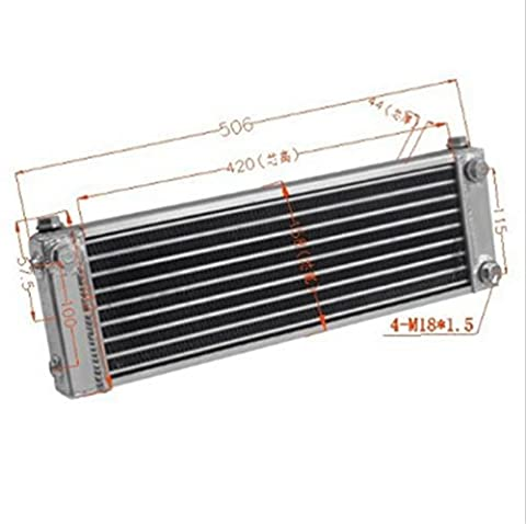 ALLOYWORKS Aluminum Oil Cooler For Mazda RX-7 RX7 FC3S S4