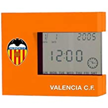 DESPERTADOR DIGITAL VALENCIA C.F. NARANJA CALENDARIO