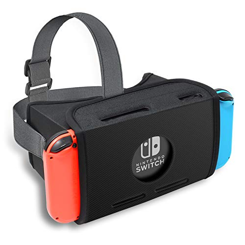 ntendo Switch, FYOUNG HD Virtual Reality Headset für Super Smash Bros. & Zelda & Super Mario Odyssey & Youtube ()