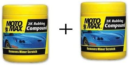Motomax 2K Rubbing Compound Pack Of 2