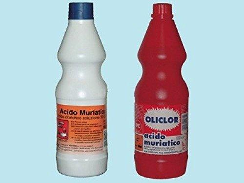 Acido muriatico (cloridrico) 33% - L 5