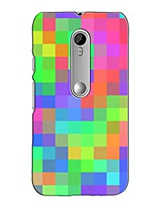 Print Tech BACK COVER FOR MOTOROLA G3
