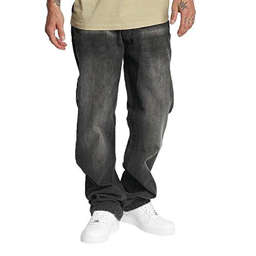 Rocawear Herren Jeans / Loose Fit Jeans Mirror Grau