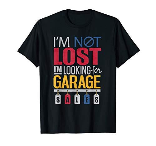 Funny Garage Sales Yard sales Auction T Shirt T-Shirt