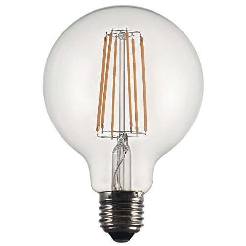 Deco Led (Lighted Deco Glühbirne LED Globe E27, 6W, 125x 170mm)