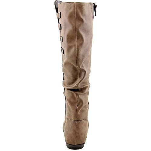 White Mountain Francie Wide Calf Synthétique Botte brown