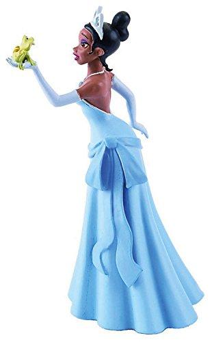 Disney Nicht Prinzessin Filme (Bullyland 12743 - Spielfigur - Walt Disney Küss den Frosch - Prinzessin Tiana mit Frosch, ca. 10)