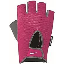 Nike performancefundamental–Guantes Dedos corta–Vivid Pink/Cool Grey/White