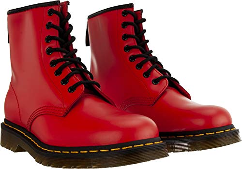 Dr. Martens Airwair Damen Stiefeletten Satchel Red 24614636 rot 653184 -