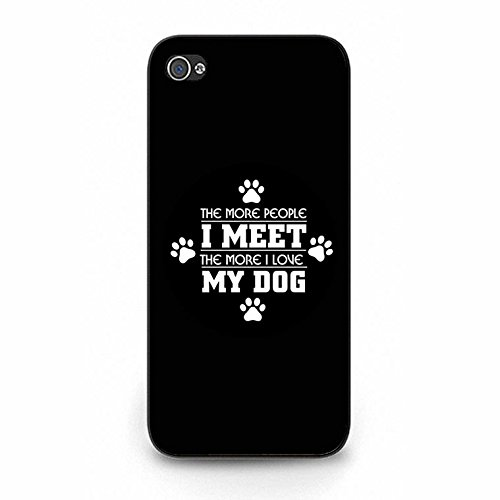 Iphone 5/5s Case,Fancy Dream I Love My Dog Phone Case Cover for Iphone 5/5s Animal Dog Shell Cover Color127d