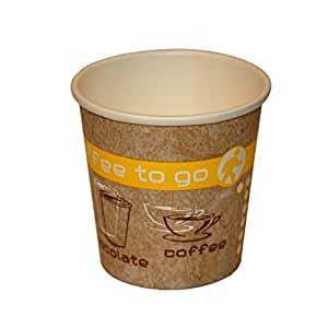 Coffee To Go Espresso Cup Paper Cups 100ml Pack Of 50