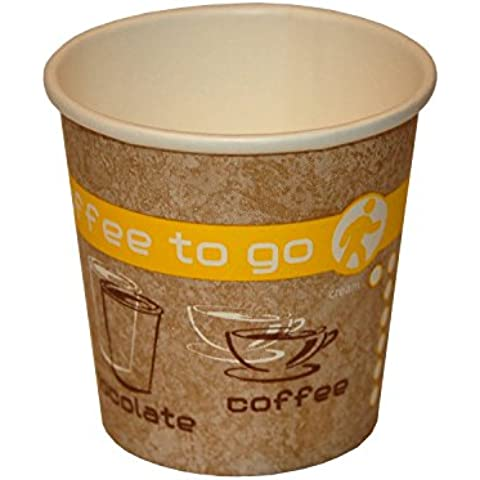 Coffee to go tazza, bevande calde Bicchieri di carta, 100 ML,