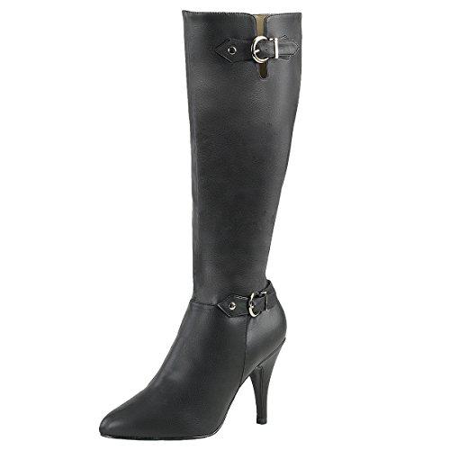 Heels-Perfect - A Collo Alto Donna nero (nero)