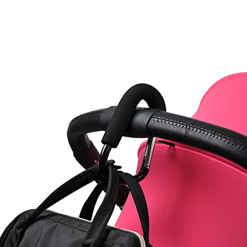 Bebamour Large Buggy Clips für Kinderwagen Handy Stroller Hook für Wickeltasche