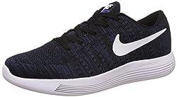 Nike Mens Lunarglide 8 Black Running Shoes - 8.5 UK/India (43 EU)(9.5 US)(843765-005)