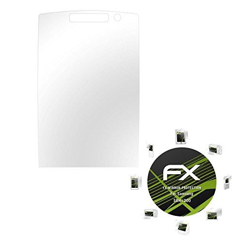 Samsung SGH-i200 Spiegelfolie - atFoliX FX-Mirror Displayschutz mit Spiegeleffekt