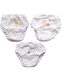 260bc837fff0 Annapurna Sales 100% Pure Soft Cotton New Born Babies Panties Set Combo  Pack of 3