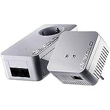 Devolo dLAN 550 WiFi Starter Kit 500Mbit/s Ethernet/LAN Wifi Blanc 2pièce(s) Adaptateur réseau CPL - Adaptateurs réseau CPL (500 Mbit/s, IEEE 1901,IEEE 802.11b,IEEE 802.11g,IEEE 802.11n,IEEE 802.1p,IEEE 802.3,IEEE 802.3az,IEEE 802.3u,IEE, Type E / F, Fast Ethernet, 10,100 Mbit/s, IEEE 802.11n)