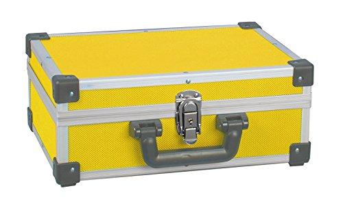 ALUTEC Aluminium Werkzeugkoffer gelb