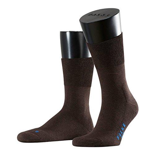 FALKE Sport Spirit Unisex Socken Run 3er Pack, 46/48;Farbe:Dark Brown (5450)