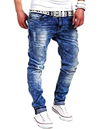 MT Styles Jeans Slim pantalon Fit RJ-2001