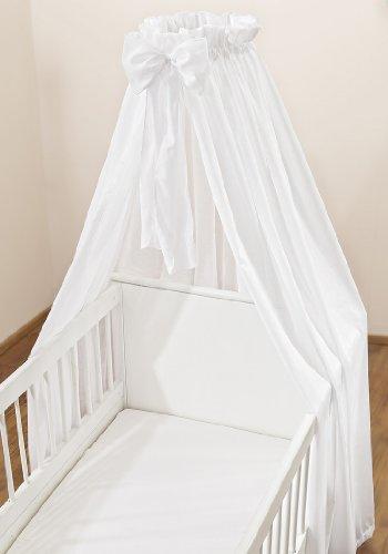 Christiane Wegner 0315 02 - Baldacchino per lettino, 300 x 175 cm, colore: Bianco