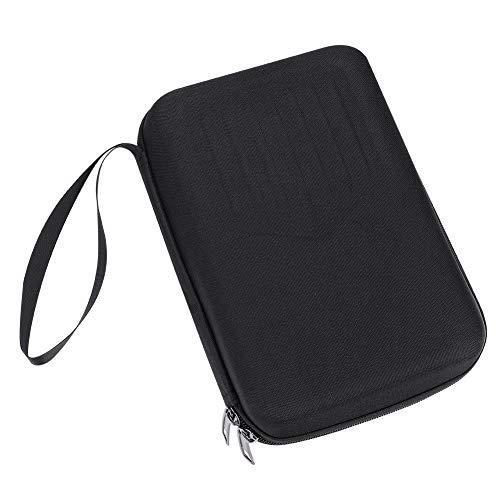 Alomejor Kalimba Tasche Tragbare Kalimba Tasche Daumen Finger Klavier Aufbewahrungstasche Box für 10 17 Schlüssel Kalimba