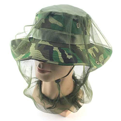 Direkte Mesh Cap (Moskitonetz Sichere Reise Camping Mesh Cap Midge Moskito Insekten Hut Bug Mesh Kopf Net Gesicht Kopfschutz Mesh 4)