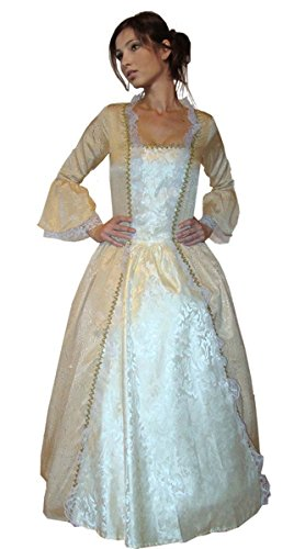 MAYLYNN 17343 - Barock Kostüm Kleid Sissy Elbe -