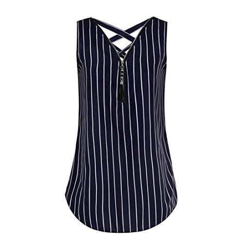 ESAILQ Damen schicke sommershirts für halbarm Moderne vorne kurz hinten Ausschnitt seidenshirt Elegante weißes Sweatshirt mit reißverschluss Bedruckte Frauen(XXXL,Dunkelblau)