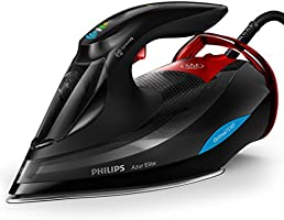 Philips Azur Elite Steam Iron 3000 Watt, GC5037/86, Black, 1 Year Brand Warranty