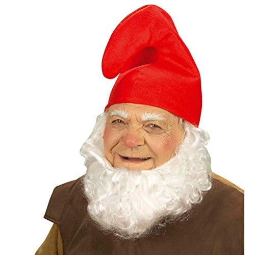 ergen Mütze Zwerg Zipfelmütze Papa Schlumpf Schlumpfmütze Fasching Wichtelmütze Kopfbedeckung Wichtel Gnom Kobold Hut Faschingsmütze Mottoparty Accessoire Karneval Kostüm Zubehör (Schlumpf Kostüme Zubehör)