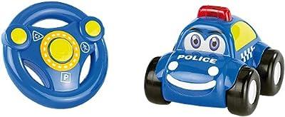 Ferngesteuertes Polizei Auto mit echter Sirene / Das Polizeiauto ist für Kinder ab drei Jahren geeignet von Playtastic