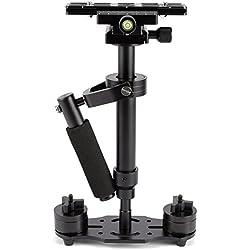 Hamimelon S4040cm Handheld estabilizador Steadicam para videocámara digital cámara de vídeo DSLR Mini Steadycam