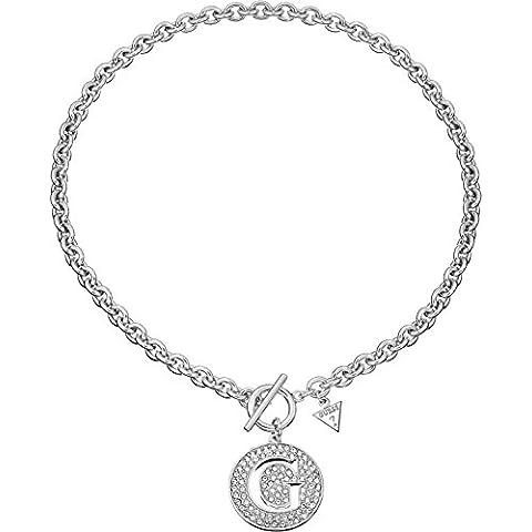 Collar para joyas Guess Girl modelo UBN51426 trendy G