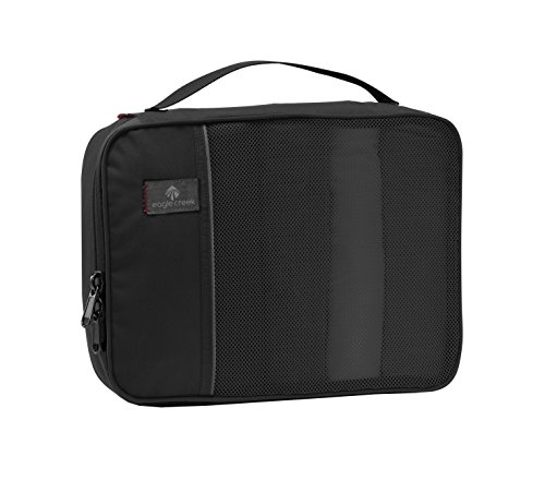 Eagle Creek Kleidertasche Pack-it Half Cube, black, 25 x 18 x 8, EC-41058010 (Poly Hose Damen Micro)