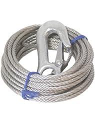 lalizas - Cable para winch 1700 kg 5mm diámetro