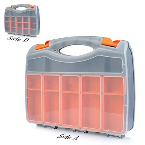 OFNMY Profi Organizer Werkzeug Herausnehmbare Boxen Mobile Werkzeugboxen universale Aufbewahrungsboxen -