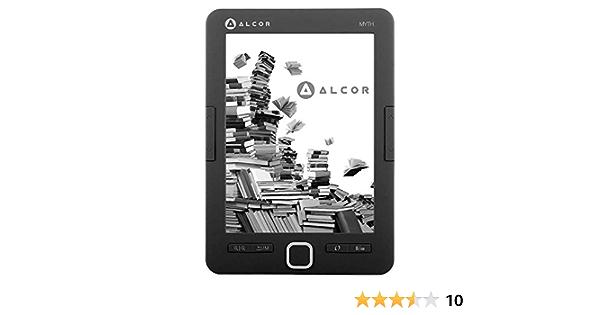 Alcor 5999561502632 Myth E Book Reader Black One Size Computers Accessories