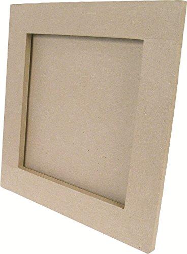 Decopatch cd105o flach Rahmen quadratisch, braun (Um Möglichkeiten, Spaß Halloween-dekorationen)