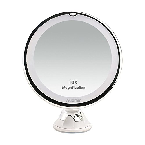 Auxmir Miroir de maquillage éclairage LED...