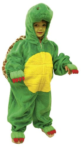 ll, Kinder-Größe:116/128 (Plüsch Schildkröte Kinder Kostüme)