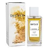 DIVAIN-167 / Similaire à Opium Black de Yves Saint Laurent / Eau de parfum pour femme, vaporisateur 100 ml