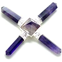Heilung Kristalle india5Stein Amethyst Pyramide Kristall Energie Generator, Reiki, seltene AAA Stein preisvergleich bei billige-tabletten.eu