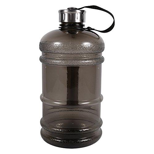 Kapazitäts Sport Gym Trainings Getränk Wasser Flaschen Kappen Trainings ( Farbe : Schwarz ) (Infuser Trinkflasche Gelb)