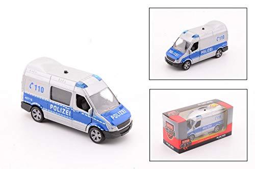 Smart Planet Super Cars Polizei Bus mit Licht und Geräusch Spielzeug Auto für Kinder zum Spielen