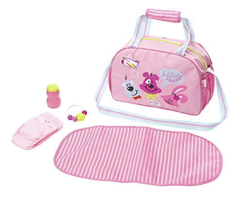 Zapf Creation 824436 Baby Born Wickeltasche, bunt -